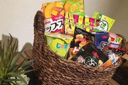 豊富なお菓子、ドリンク_02